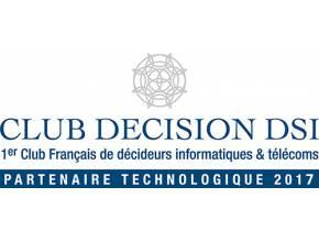 Blue note systems partenaire technologique 2017 du club décision DSI