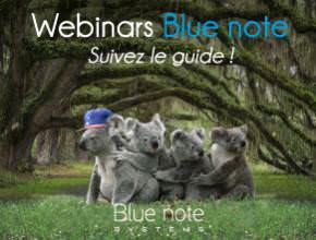 Blue note webinar CRM Freshsales