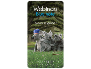 Blue note webinar CRM