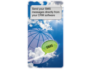 Send SMS text messages directly from your CRM system