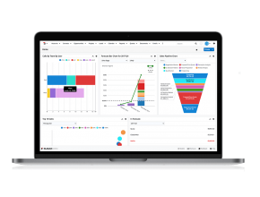 SugarCRM 8 overview dashboard