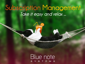 Subscription management software : Take it easy and relax !